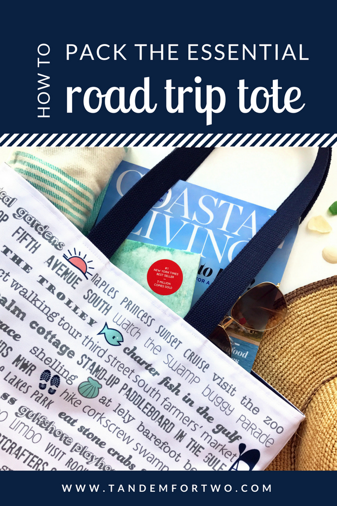 How to Pack the Essential Road Trip Tote - tandemfortwo.com