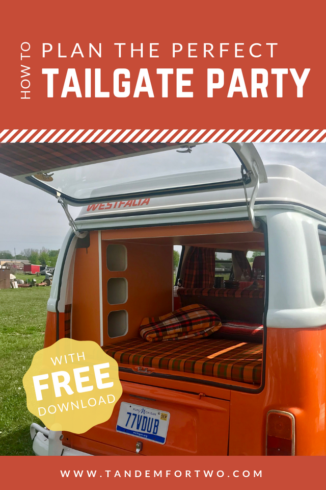 How To Plan the Perfect Tailgate Party