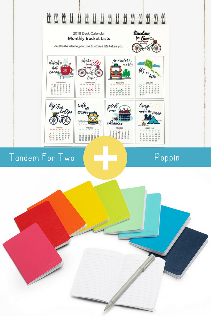 Tandem For Two + Poppin = Stocking Stuffers!