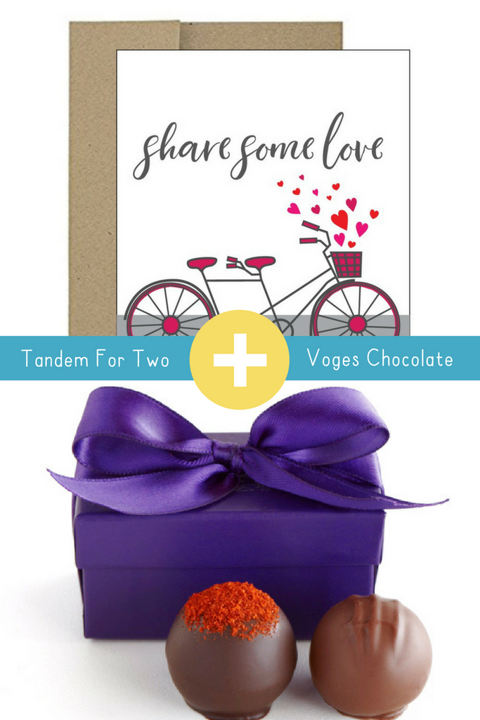 Tandem For Two + Vosges Chocolate