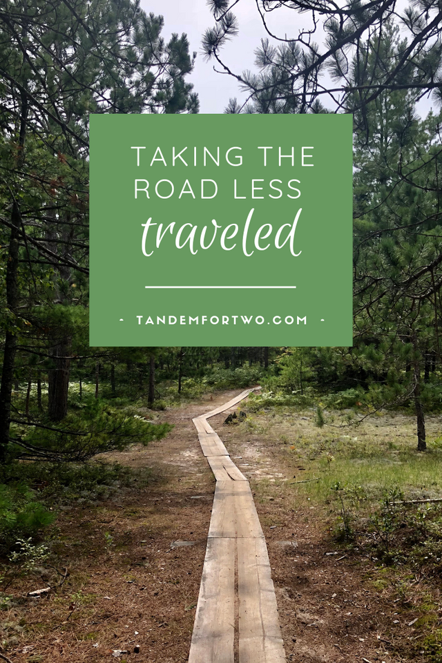 Taking the Road Less Traveled - Tandem For Two