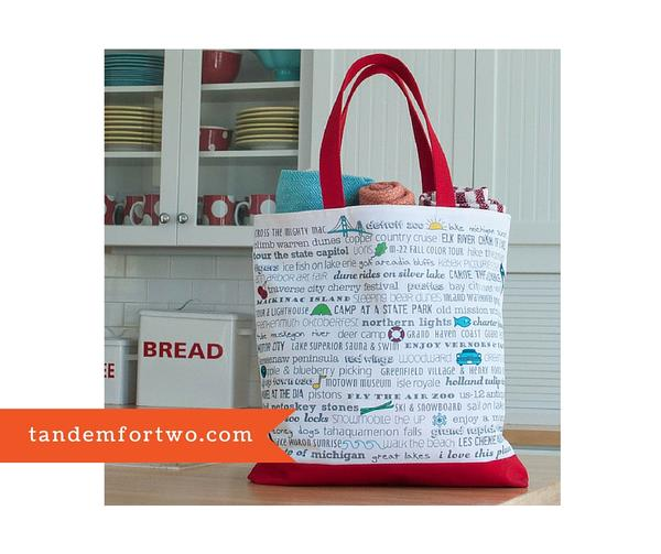 Bucket List Beach Tote from Tandem For Two