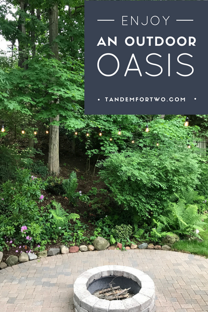 July = Enjoy an Outdoor Oasis - tandemfortwo.com