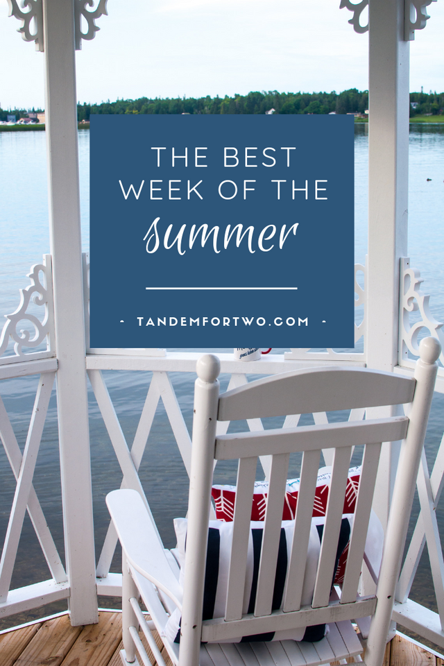 The Best Week of the Summer - Tandem For Two