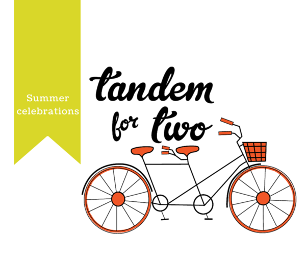 July = Summer Celebrations, Tandem For Two