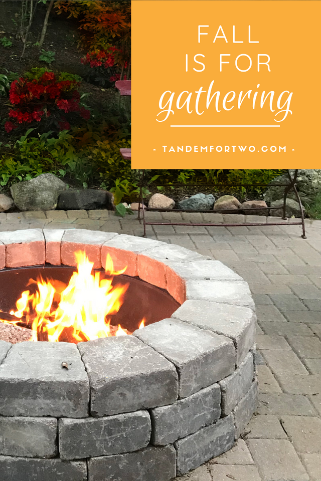 Fall is for Gathering - Tandem For Two