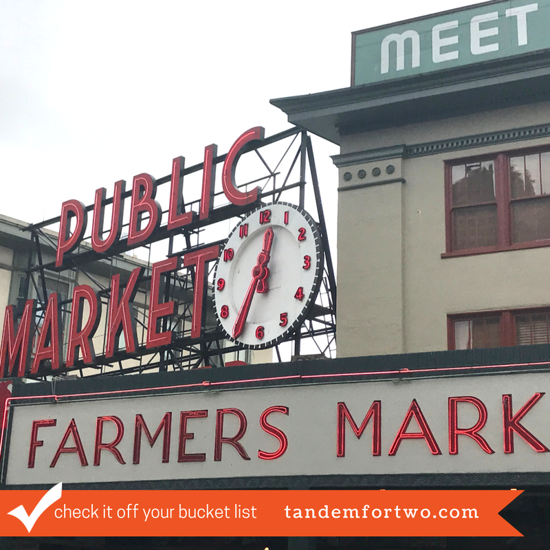 Check It Off Your Bucket List: Shop at Pike Place Market