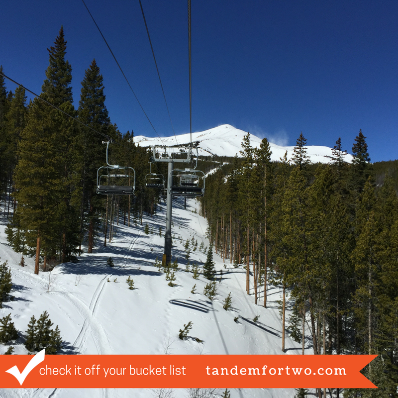 Check it Off Your Bucket List: Go Skiing!