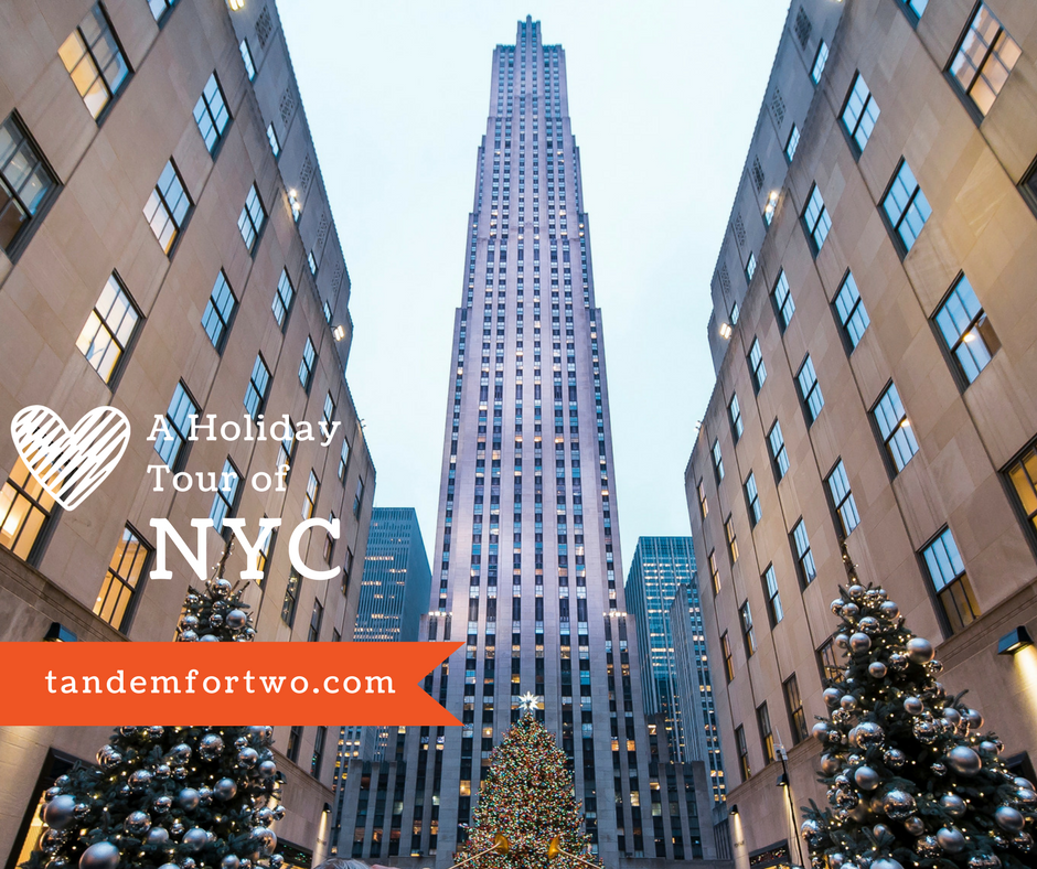 A Holiday Tour of Lower Manhattan in New York City, tandemfortwo.com