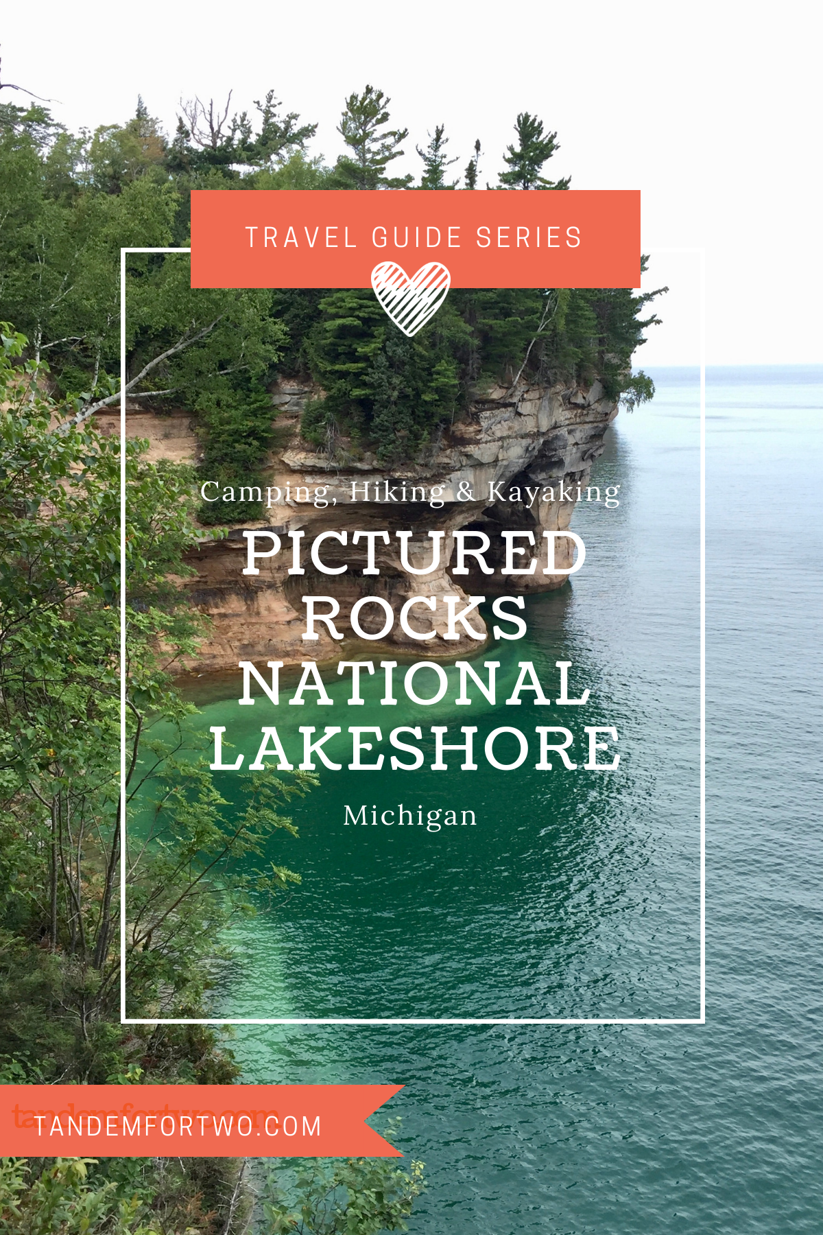 Camping, Hiking & Kayaking Pictured Rocks National Lakeshore, Michigan - Tandem For Two