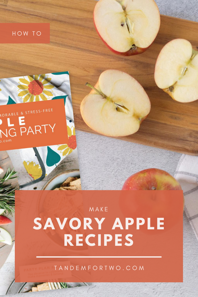 Create Savory Apple Recipes