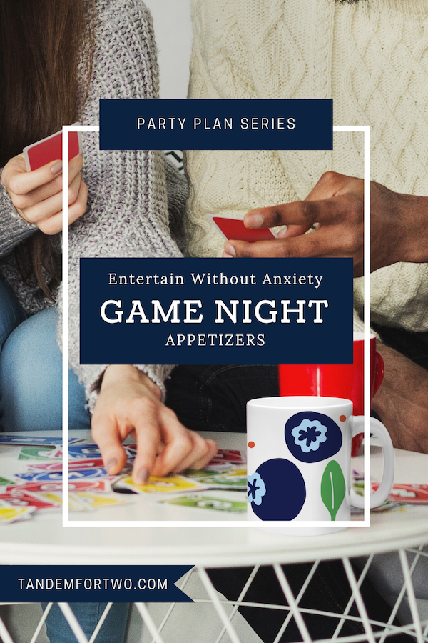 Host An Appetizer Game Night