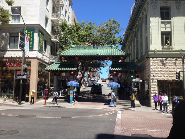 Dragon's Gate in San Francisco, Tandem For Two