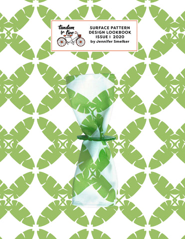 SURFACE PATTERN DESIGN LOOKBOOK 2020 TANDEM FOR TWO