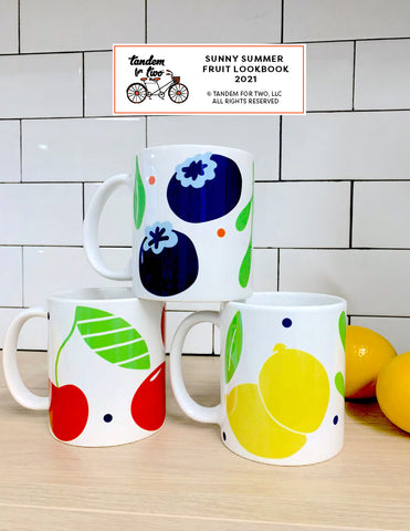 Sunny Summer Fruit Lookbook by Tandem For Two