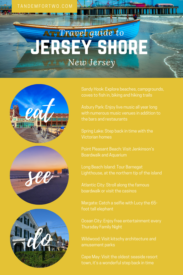 Spend Some Time Down the Jersey Shore - Tandem For Two