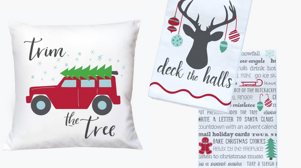 Deck the halls holiday decorating ideas - Tandem For Two