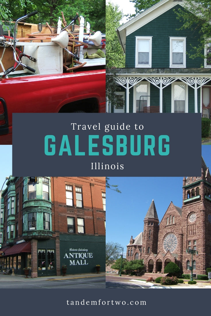 The 100 Mile Yard Sale & Galesburg, Illinois