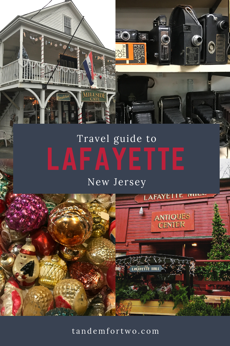 Antiquing in the Historic Town of Lafayette, NJ - Tandem For Two