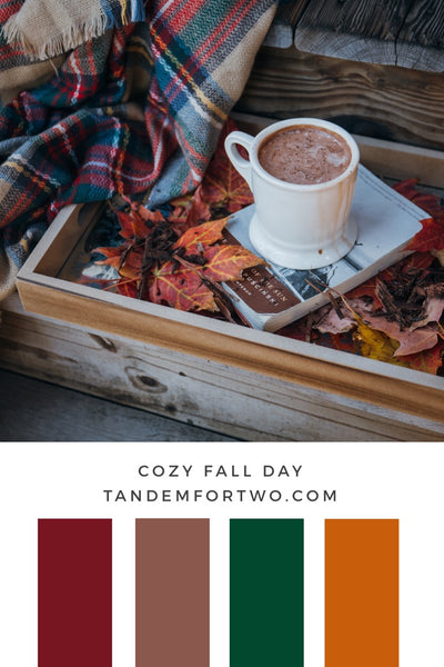 October Color Palettes from Tandem For Two