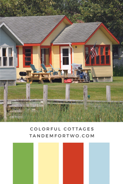 August Color Palette from Tandem For Two