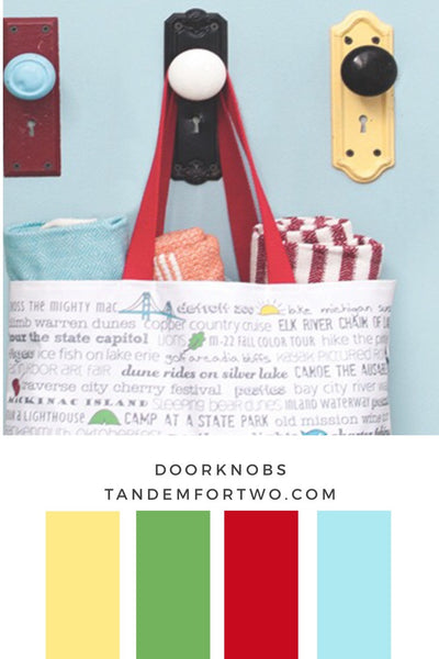 July Color Palette from Tandem For Two