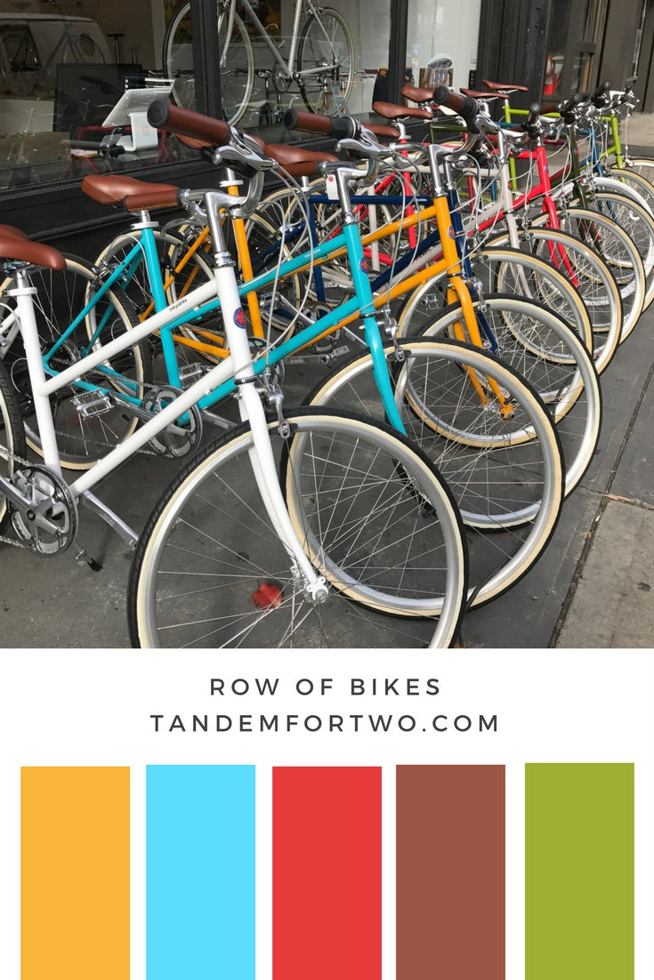 September Color Palettes from Tandem For Two