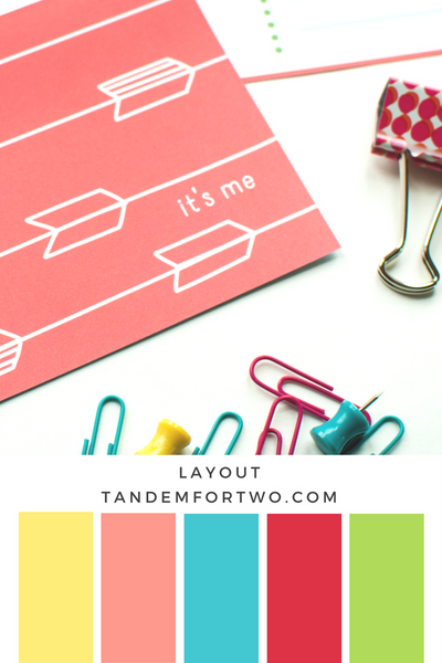 Tandem For Two Color Palette