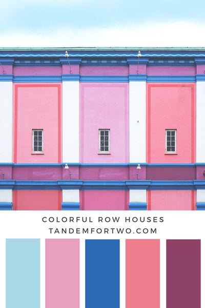 Tandem For Two, February 2017 Color Palette