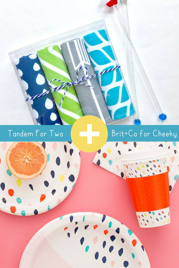 Brit & Co for Cheeky plus Tandem For Two