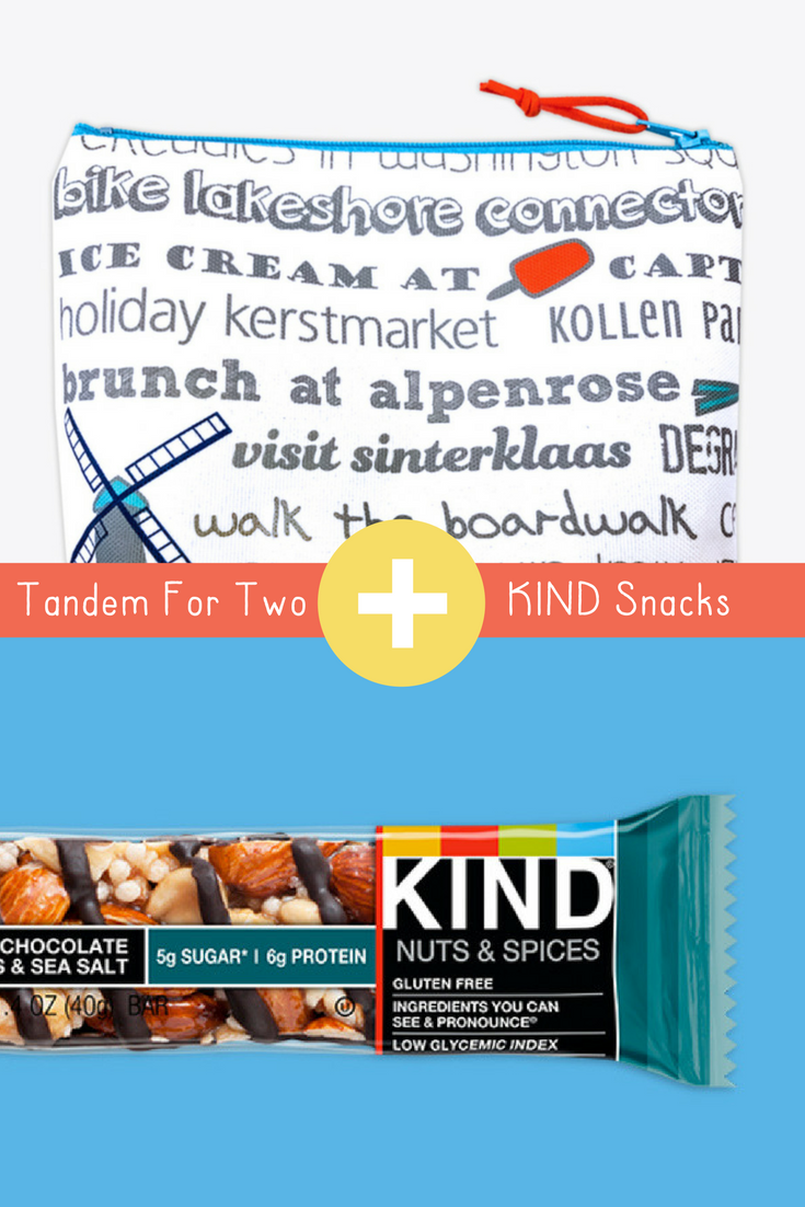 Tandem For Two plus KIND Snacks