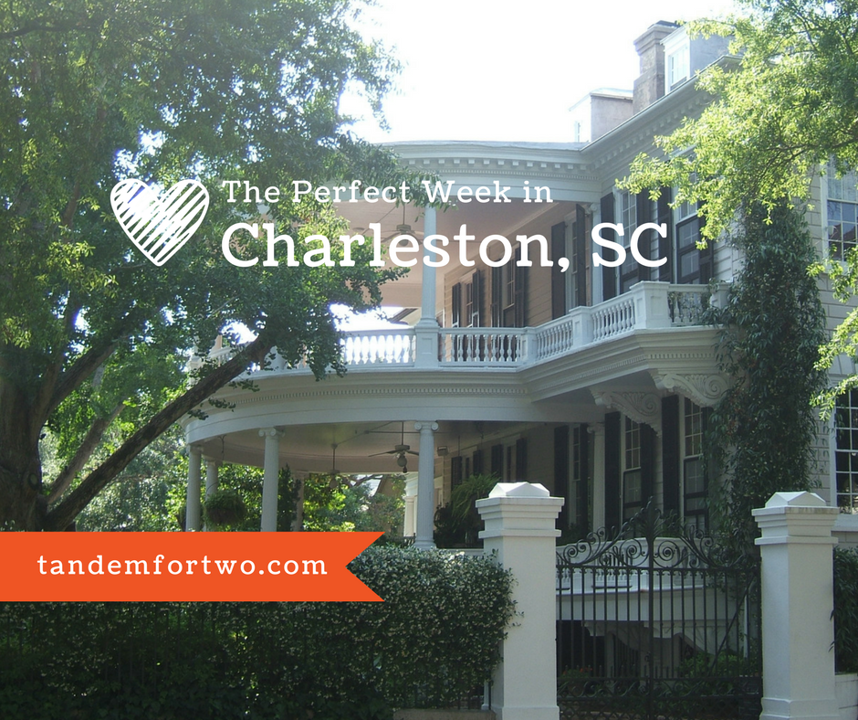 Perfect Week in Charleston, Tandem For Two