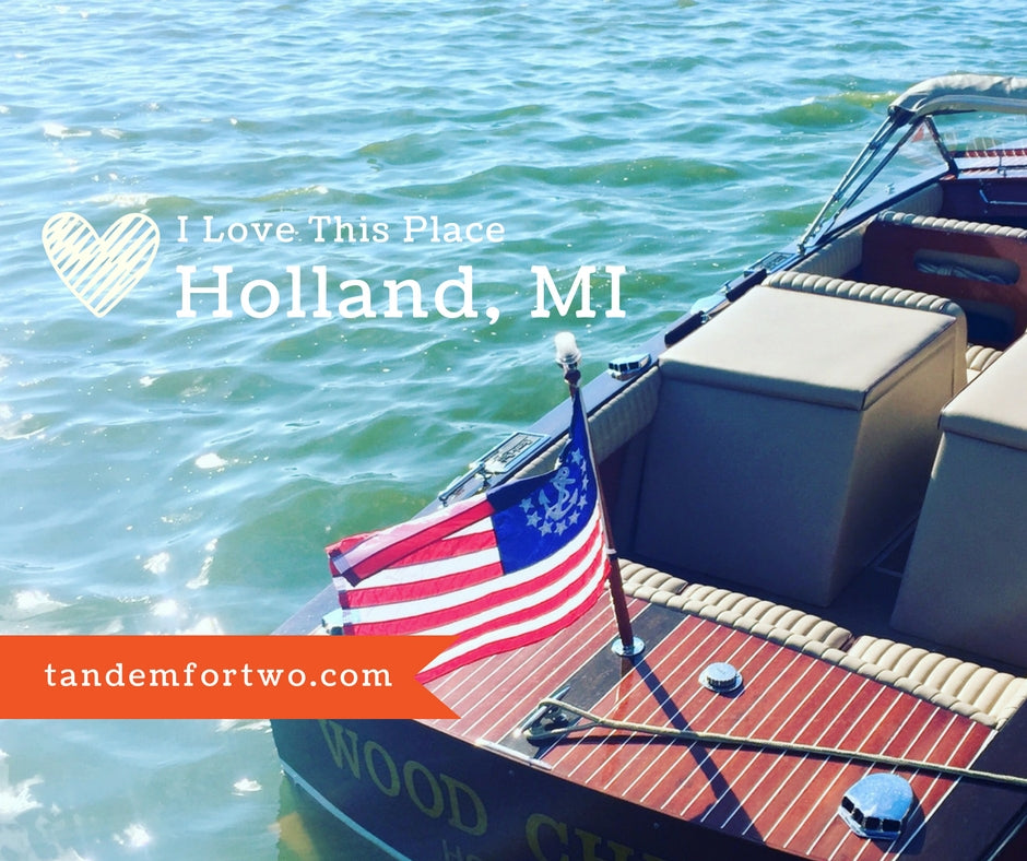 I love this place: Holland, MI, Tandem For Two