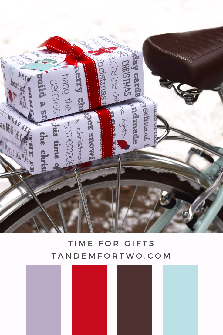 December Color Palettes from Tandem For Two