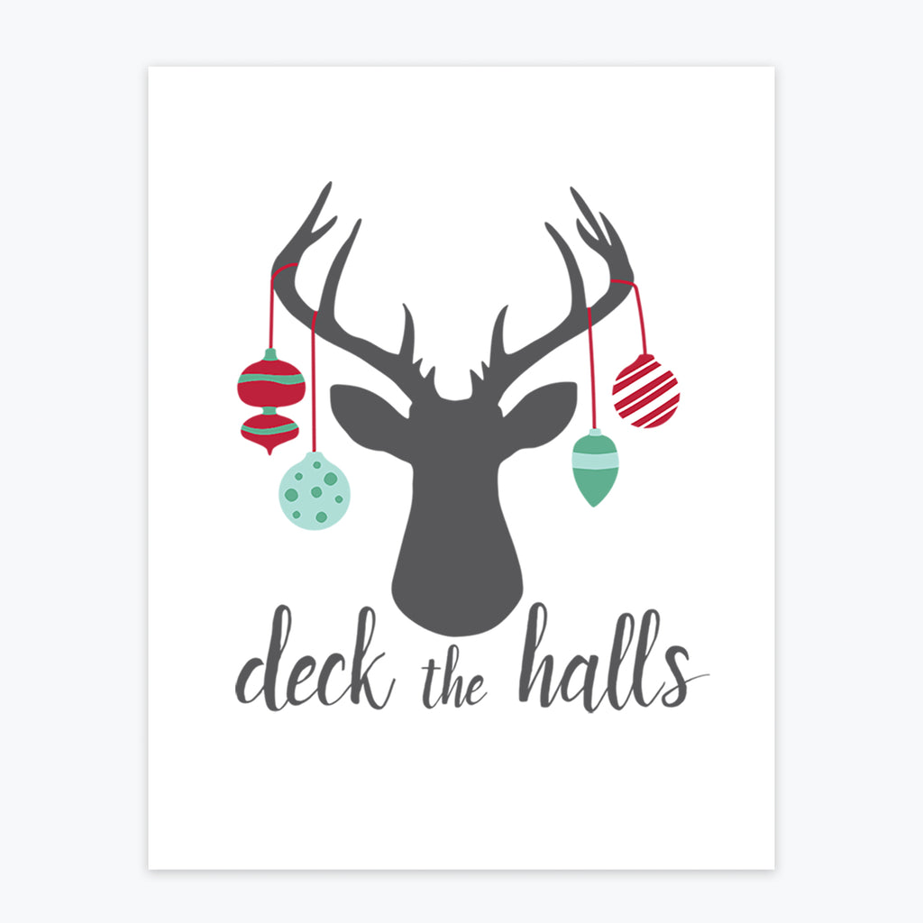 Art Print - Deck The Halls
