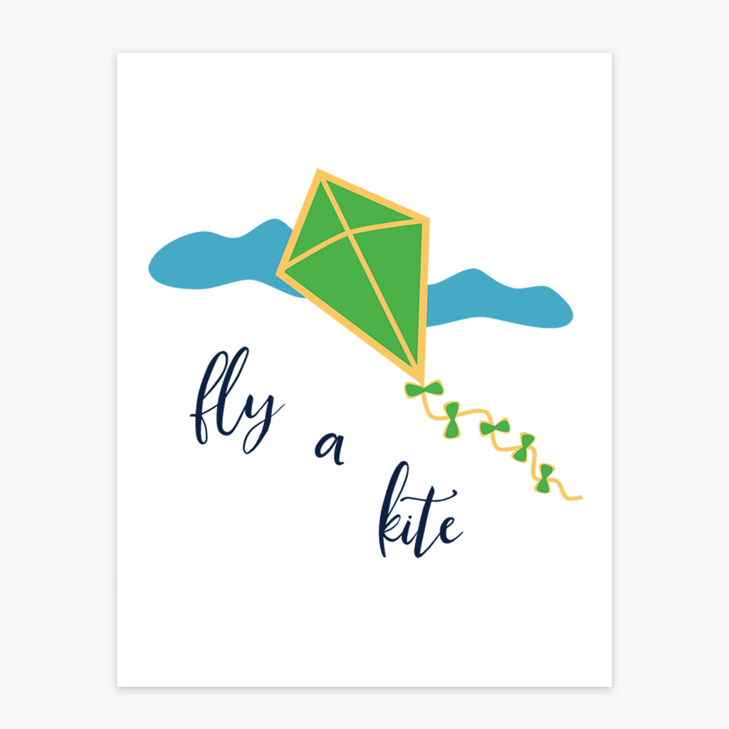 Art Print - Fly A Kite