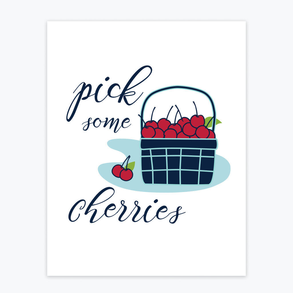Art Print - Pick some Cherries