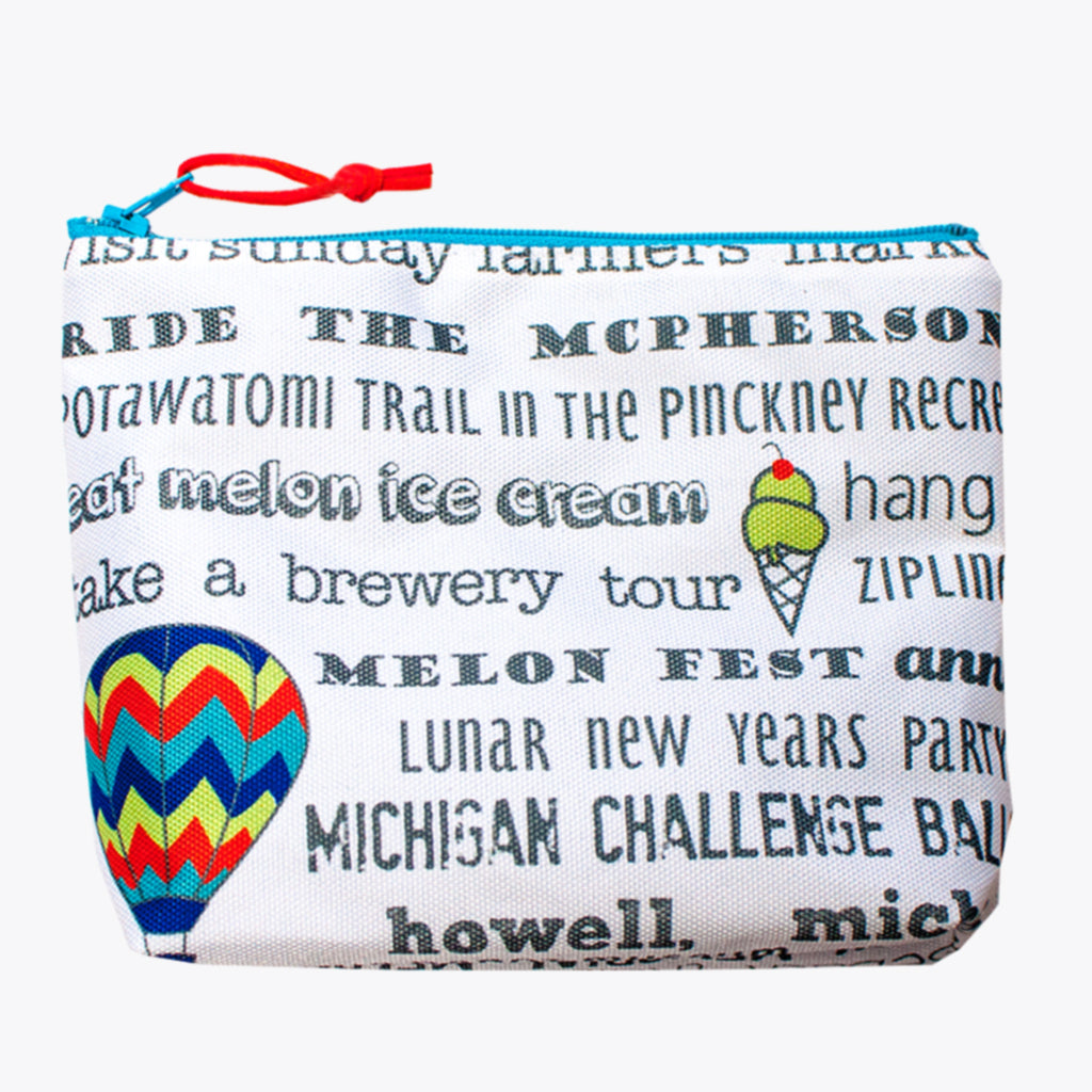 Petite Pouch - Howell Bucket List - Tandem For Two