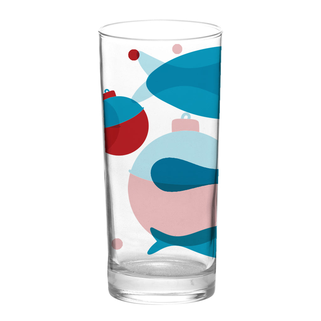 Glassware - Fish & Bobbers - Tandem For Two