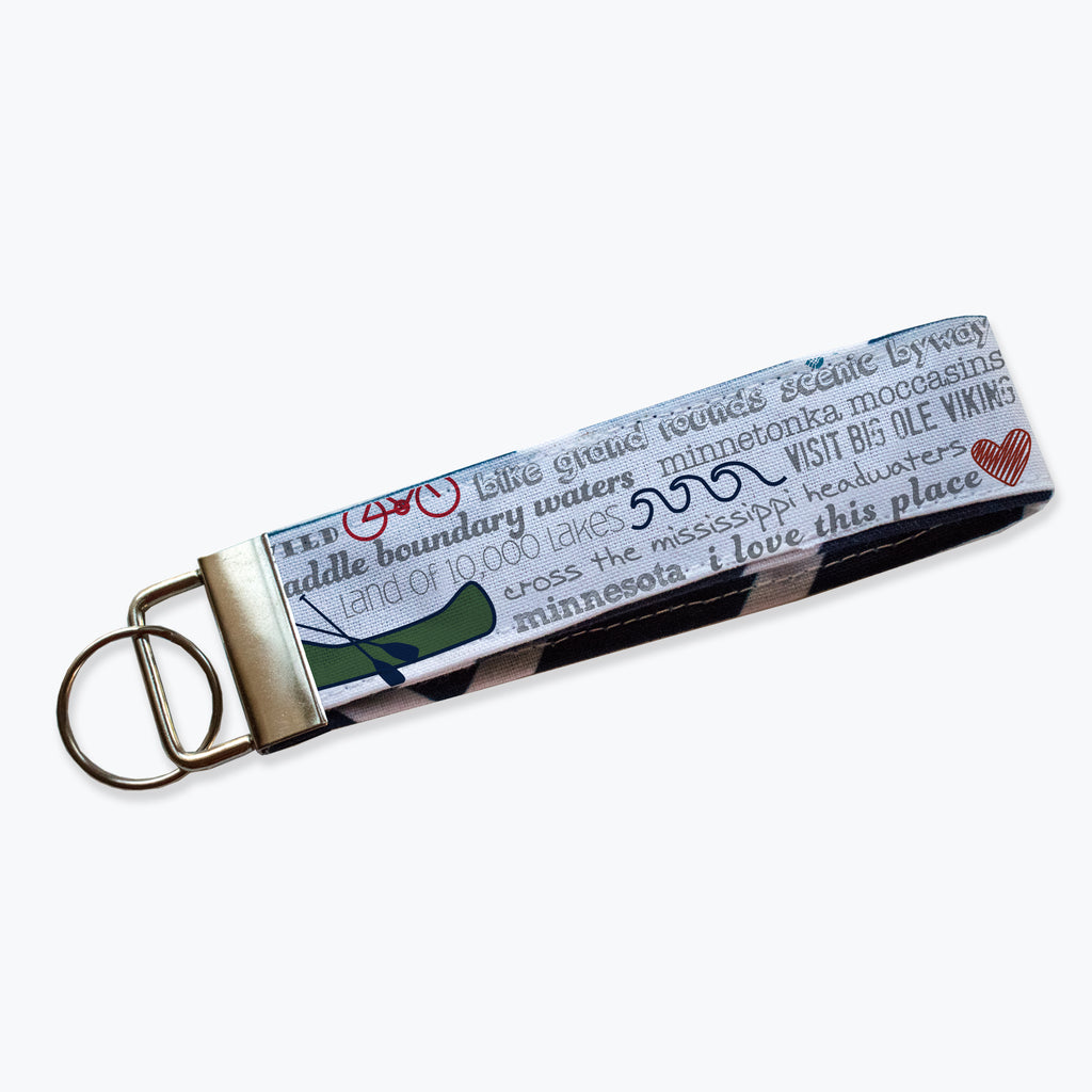 Key Fob / Key Chain - Minnesota Bucket List