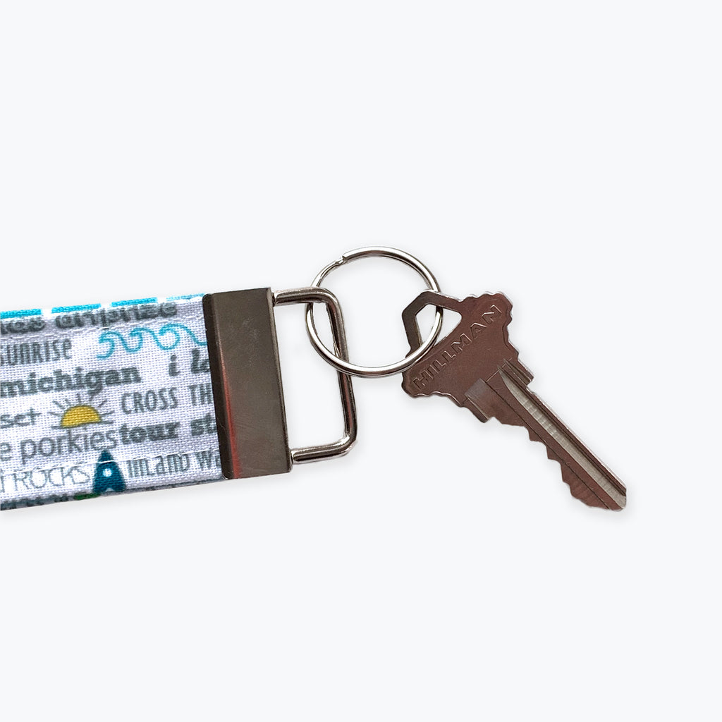 Key Fob / Key Chain - Indianapolis Bucket List - Tandem For Two