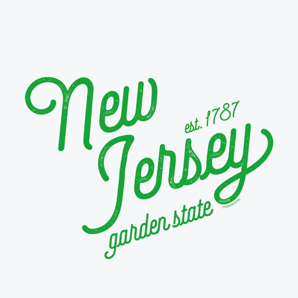Tea Towel - New Jersey Pride - Tandem For Two