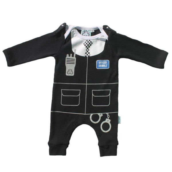 Baby Fancy Dress Outfit - Police Baby Grow