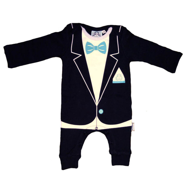 Lazy Baby, Christening, Wedding or Party Baby Outfit - Baby Grow Suit
