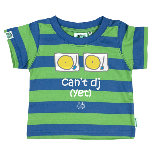 Newborn gift for parents who Party - Can't Dj Yet