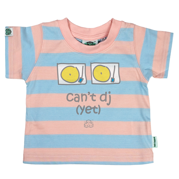 Newborn gift for parents who Party - Can't Dj Yet - Lazy Baby