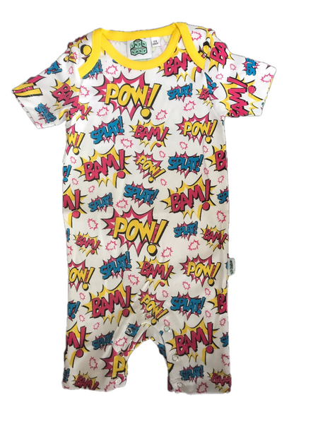 Lazy Baby POW! Summer Suit