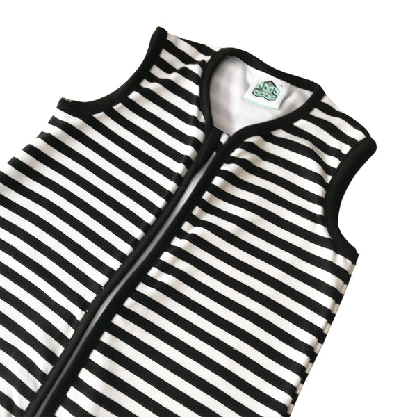 Lazy Baby Organic Cotton Black & White Sleeping Bag - Lazy Baby