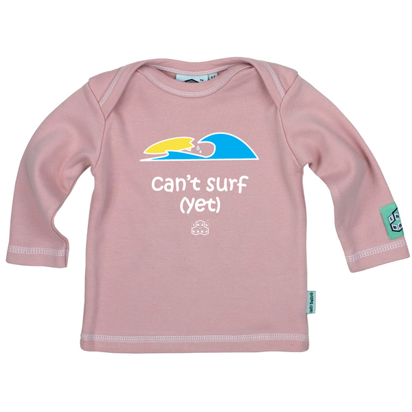 Newborn gift for baby girl surfers - Can't surf yet