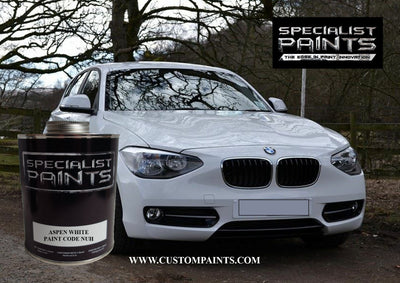 BMW Automotive: Aspen White - Paint Code NUH